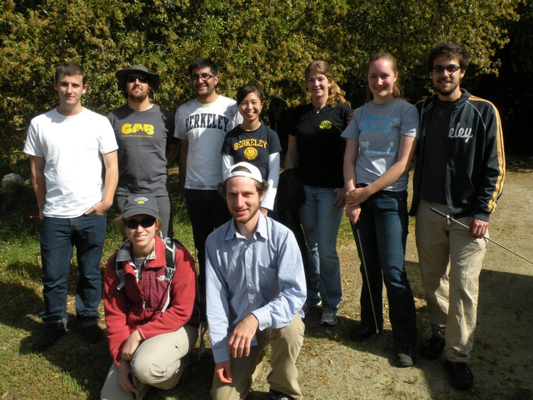 part of the UC Berkeley team